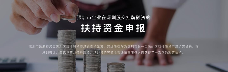 深圳市政府扶持